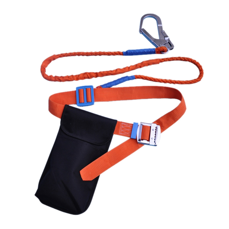 Industrial Safety Adjustable Lanyard - Safety Belt Fall Protection Tool For Outdoor Construction Safety