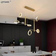 Современные светодиодные подвесные светильники для столовой