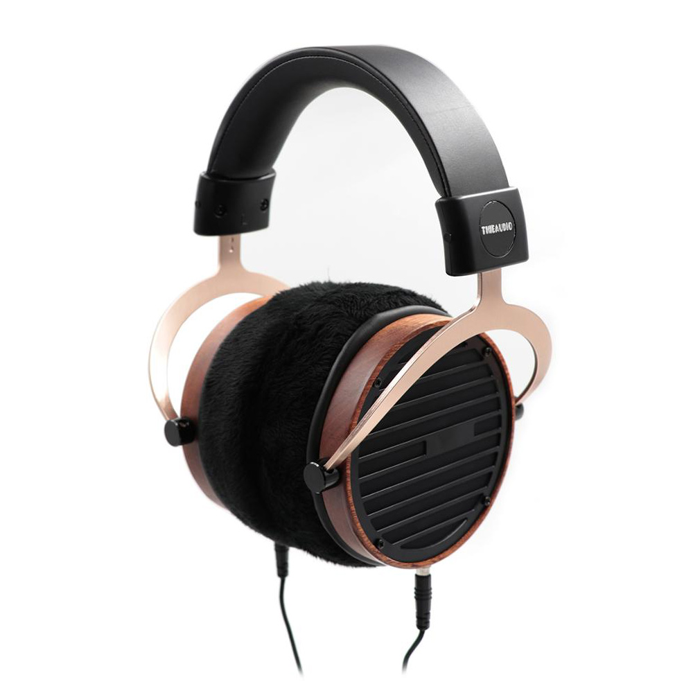 Thieaudio Phantom Planar Magnetic Open Back Headphone Orthodynamic  101mm Ultra-light Composite Diaphragm High Quality Earphones
