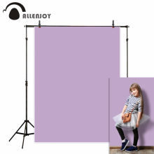 Allenjoy photographic backgrounds light purple pure color pattern wedding backdrop photocall photography studio photozone