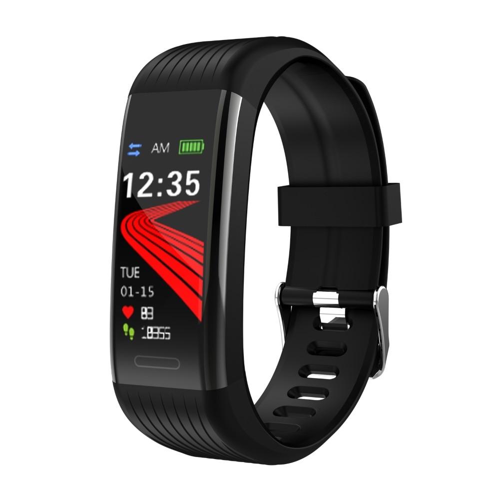 R1 спортивный смарт-Браслет фитнес-трекер Смарт-браслет водонепроницаемые браслеты кровяное давление пульсометр шагомер