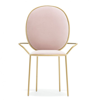 Pink Nordic Dining Chair Cheap Light Extravagant Makeup Chair Modern Restaurant Chairs Living Room Furniture Cadeira Armchair