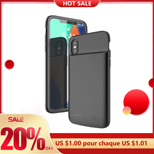 Cases Battery Back-Clip Mobile-Phone-Case XNCORN for Xs-Xr Soft-Silicone Max