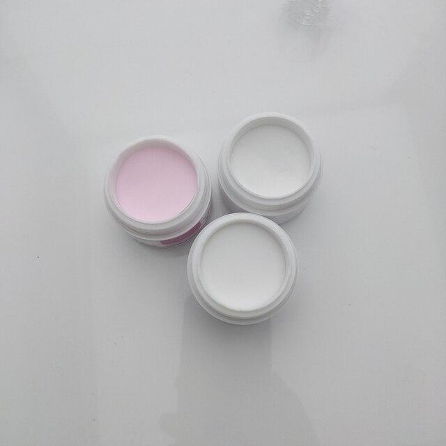 16PCS/ SET Nail Art Kit DIY 120ML Acrylic Liquid Powder Buffer Form Pen Dappen Dish Tools Set 5PCS nail brush 3