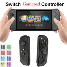 For Switch Simple Small Left & Right Handle Gamepad Crystal Button Housing Shell Case Controller For Nintendo Switch Game Consol