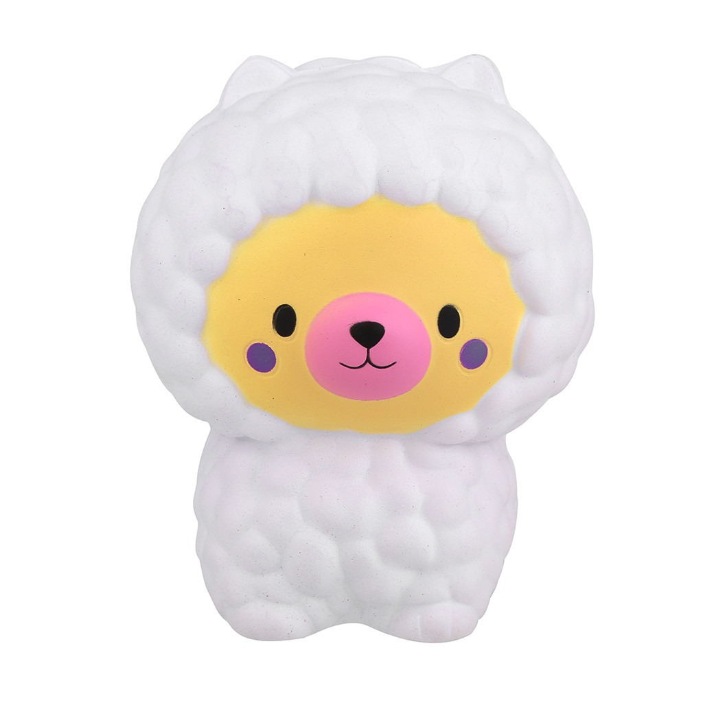 Adorable Llamas Sheep Slow Rising Fruits Scented Stress Relief Toys Decompression Toy Vent Toy For Children Funny Gift L1224