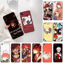 CUTEWANAN Mystic Messenger 707 Custom Photo Soft Phone Case For Vivo Y91c Y17 Y51 Y67 Y55 Y93 Y81S Y19 V17 vivos5(China)