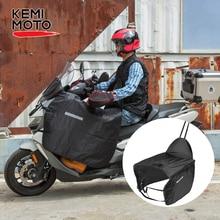 Мотоциклетное одеяло KEMiMOTO, подогреватель колена, чехол для ног для скутеров, защита от дождя и ветра, водонепроницаемое зимнее одеяло для Vespa GTS GTV