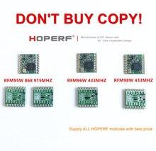 RFM95 RFM95W RFM96W RFM98W беспроводной модуль приемопередатчика HopeRF оригинальный Сертифицированный FCC / ROHS / ETSI / REACH