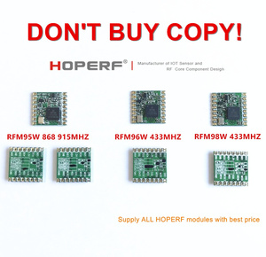 RFM95 RFM95W RFM96W RFM98W модуль беспроводного приемопередатчика HopeRF оригинальный FCC/ROHS/ETSI/REACH Сертифицированный