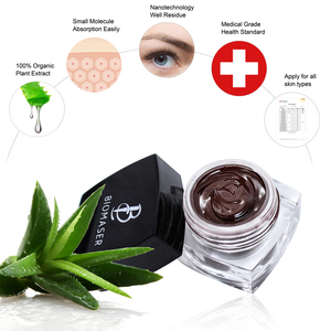 Image 2 - Biomaser4/8 Cream Pigment Microblading Kits for Permanent Makeup 3D Eyebrow Tattoo Starter Kits with Microblading Penna Ruler