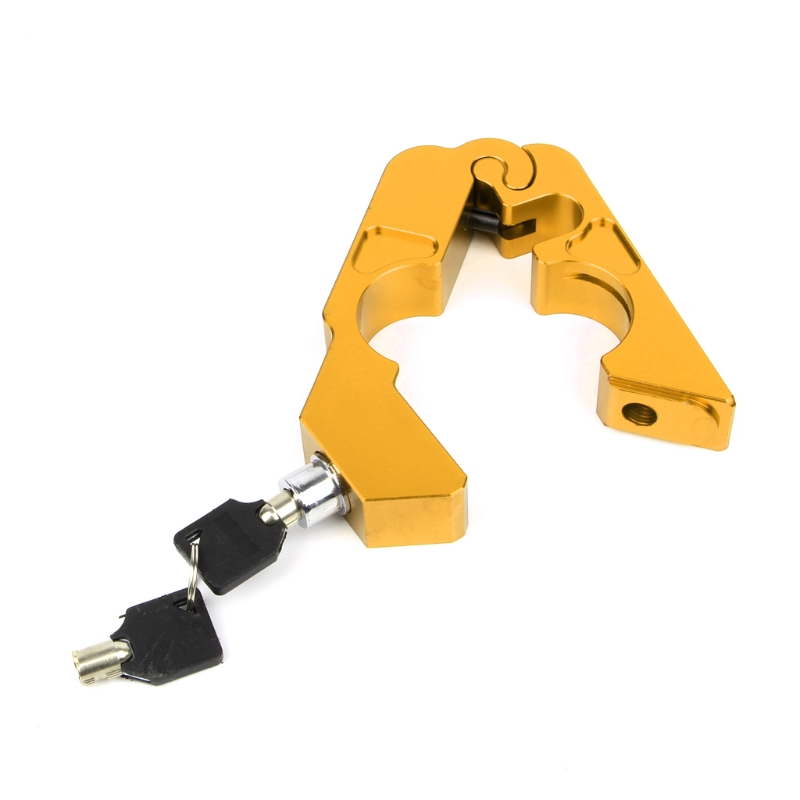 Handlebar Lock Scooter Brake Security Theft Protection For Motorcycle