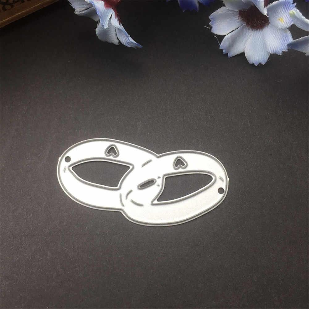 Anéis de casamento do Corte De Metal Morre DIY Álbum Scrapbooking Embossing Cartões de Papel Fazendo Artesanato Suprimentos Novo 2019 Cortado Corte Morre