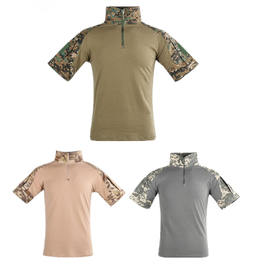 Army Quick-Drying Military Uniform 11colors Tactical Clothing Breathable Military Combat Shirts Men German Airsoft Male Clothes