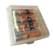 PKCELL NIZN Pin Sạc Aaa 900mwh 1.6V 4 Và Pin 1 Chiếc Giá Đỡ Hiệu Quả Cao Cho Đèn Pin