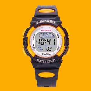 Men Watch Digital Sport Waterproof Alarm Multifunction Life Quartz for Boy Led-Date High-Quality