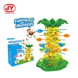 Children Interesting Intelligence Toys Turn Monkeys Down Monkey Tree Climbing Desktop Game party game funny toys for kids