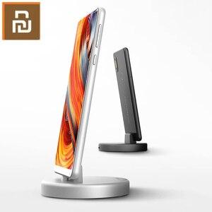 Image 3 - Беспроводная подставка для телефона Youpin Panki, зарядное устройство Type C 18 Вт, быстрая Беспроводная зарядка для Samsung Huawei Xiomi, держатель для быстрой зарядки