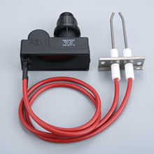 Universal Electronic Two Outlets Igniter With High Spark Plug Wire Length 450mm Kit For Char-Broil BBQ Grill Water Gas Heater