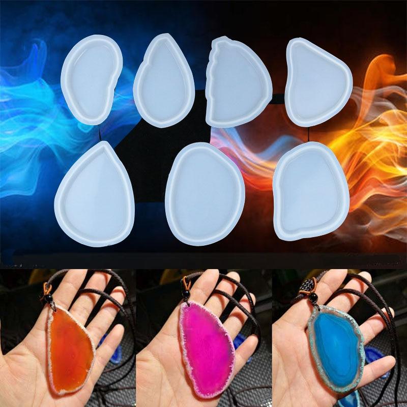 Irregular Pendant Jewery Tool UV Resin Jewelry Accessories UV Resin Mold DIY Handcraft Jewelry Molds