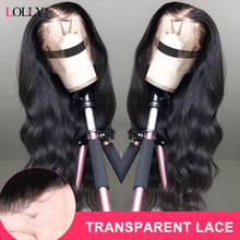 Malaysia Transparent Lace Front Human Hair Wigs 13x4 150 Den