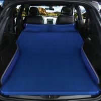 Car Inflatable Bed SUV Car Mattress Rear Row Car Travel Sleeping Pad Off road Air Bed Camping Mat Air Mattress Auto Accessories