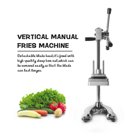ITOP Potato Slicer Carrot Cutter Stainless Steel Vegetable Slicing Machine Easy operated Tools With 3 Pcs Blades