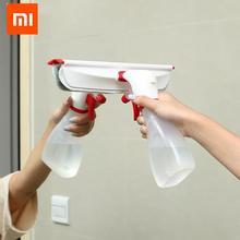 Xiaomi yijie 2 In1 タイムラプススプレーボトル & 窓クリーナー布クリーニングブラシモップ屈曲可能なダスタークリーナー車クリーニングホーム