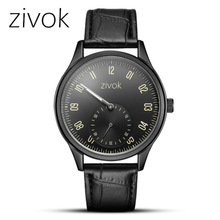 Top Brand Quartz Men full Black Slim Simple Unisex Wristwatch Fashion Sport Casual Waterproof Watches
