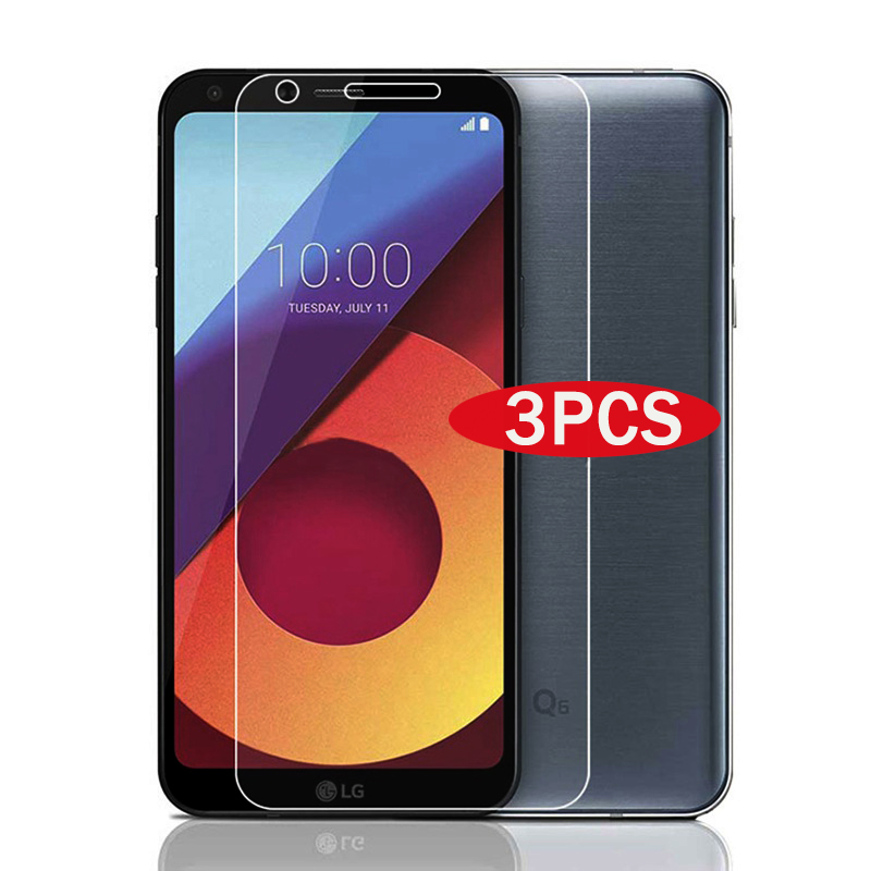 3pcs Tempered Glass For LG G6 G7 LG Q6 Screen Protector 9H 2.5D 0.26MM Phone Protection Film For LG G6 G7 Tempered Glass Film