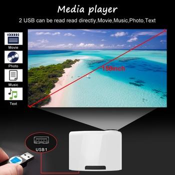Светодиодный проектор WZATCO C2 4K 3