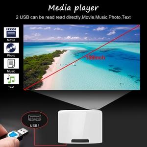 Image 3 - Wzatco c2 1920*1080p hd completo 200 polegada ac3 4d keystone led projetor android 10.0 wifi portátil 4k casa teatro beamer proyector