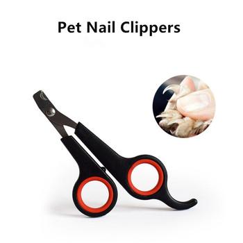 1pc gorąca sprzedaż obcinacze pazurów dla psa pazur Nailclippers dostarcza koty paznokcie Clipper trymer Pet wyciągacz gwoździ nożyczki do strzyżenia sierści Cutter tanie i dobre opinie STAINLESS STEEL green blue rose red white black