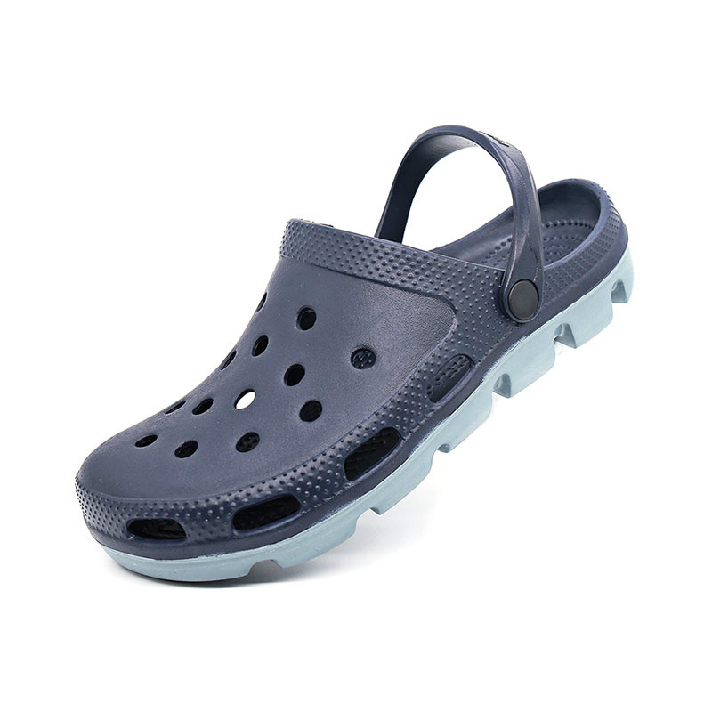 Coslony Summer 2019 Outdoor Slip On Men Beach Sandals Mens Clogs Garden Shoes Crox Sandal Man Clog Plus Size 48 49