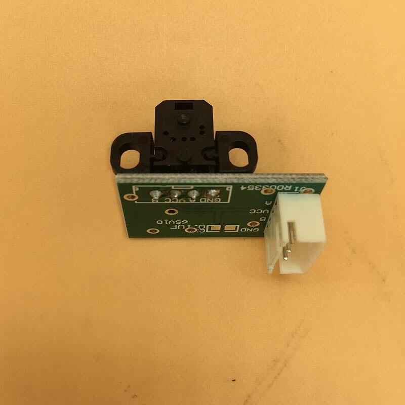 Smart color inkjet printer encoder raster sensor with H9730 reader for Xenon Niprint Fortune-lit DX5 DX7 head encoder sensor(China)