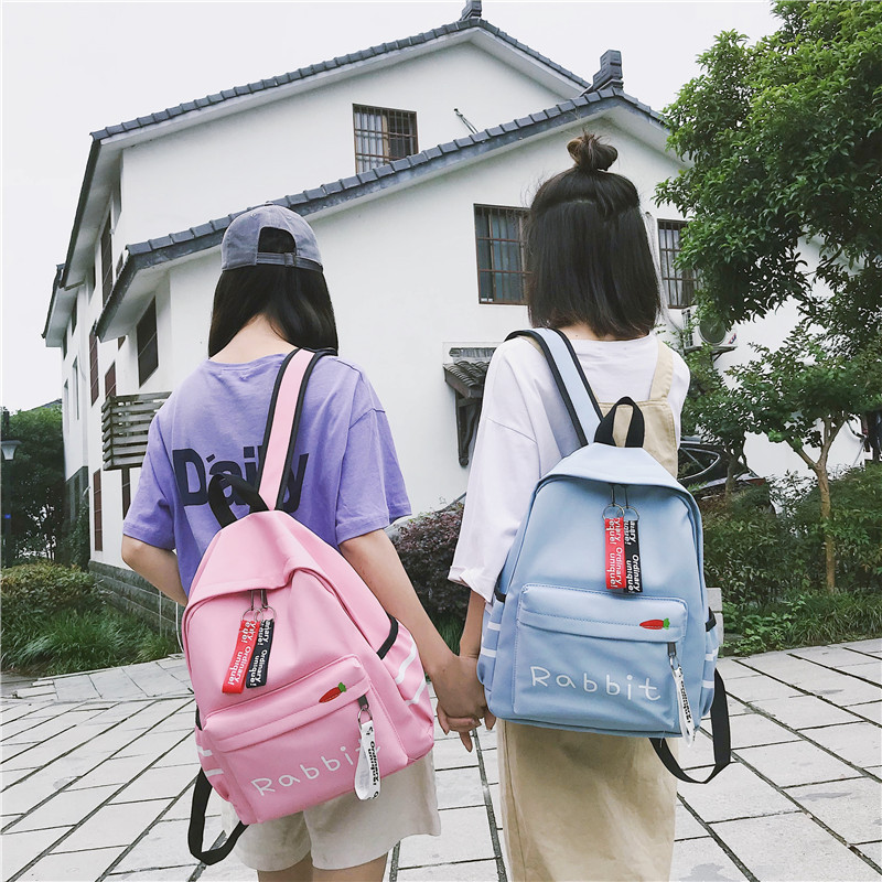Backpacks School-Shoulder-Bag Teenage-Girls Female Fashion Mochila Women for -<font><b>Yl</b></font> Youth image