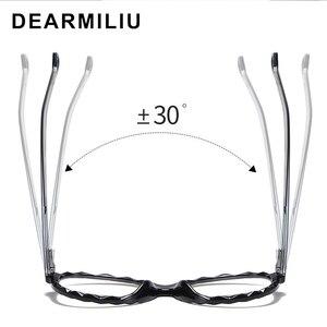 Image 2 - DEARMILIU 2020 New Womens Blue Light Blocking Glasses Round Frame Classic Flat Mirror Reading Computer Eyeglasses Lunettes
