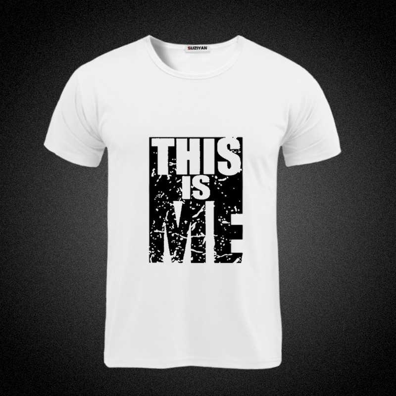 2019 nowy Just Color T Shirt męskie bawełniane t-shirty na co dzień letni t-shirt w stylu skateboard chłopięca koszulka na deskorolkę topy niestandardowe graficzne Just Break It