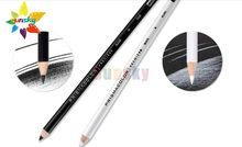 2pc eua original prismacolor profissional lápis colorido oleoso lapis de cor pc938 pc935 preto branco esboço do artista lápis colorido