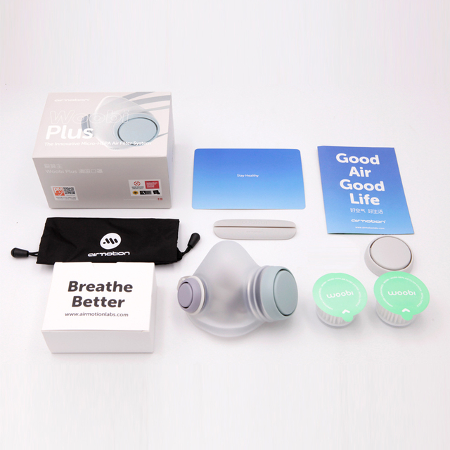 2020 Xiaomi Woobi Play Face Masks Filter Respirator Mask PM2.5 Anti-Dust Pollution Mouth Cover Breath Valve For Adult Kids 5