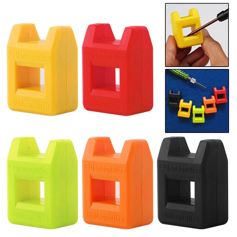Mini - Fast 2 In 1 Magnetizer Demagnetizer Tool Screwdriver Magnetic High Quality Colour Send Random