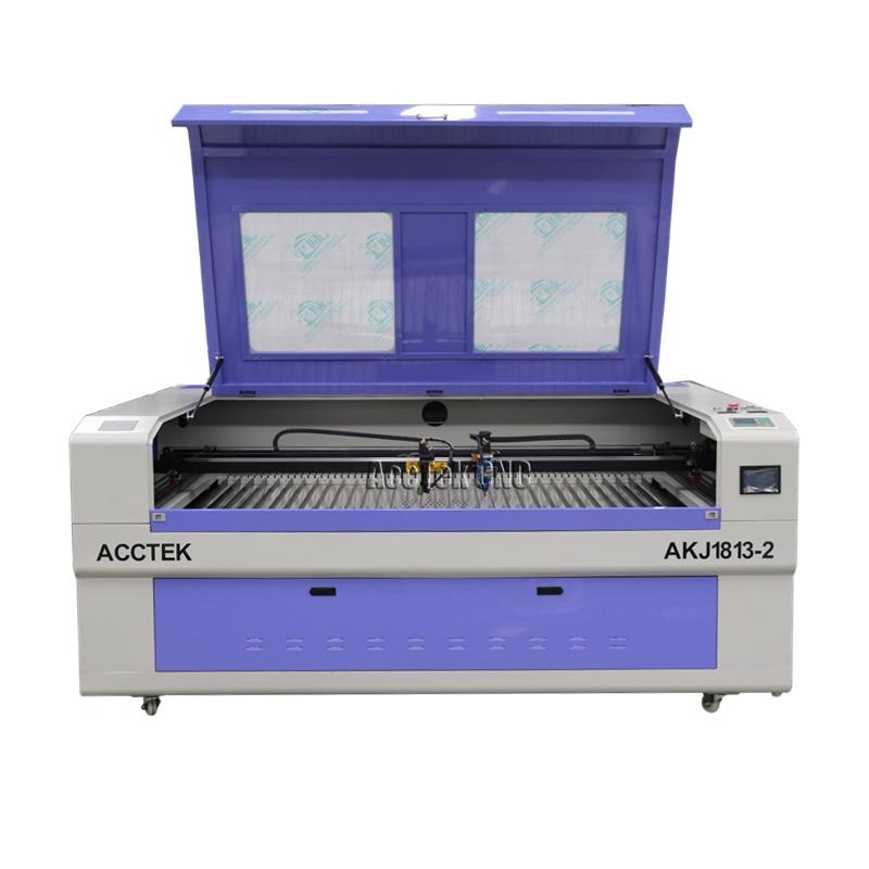 60W 80W 100W 120W 150W Wood Acrylic MDF Plastic Fabric CO2 Laser Cutting Machine Price With Hiwin Guide Rails