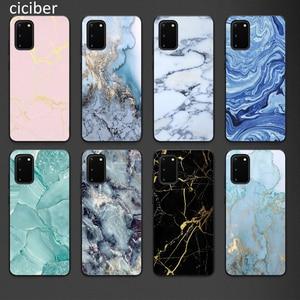 Marble Phone Case for Samsung A50 A40 A70 A51 A71 A20 A20E S10 S20 S9 S8 S7 Edge Ultra Puls Note 10 9 8 Plus Cases Matte Soft