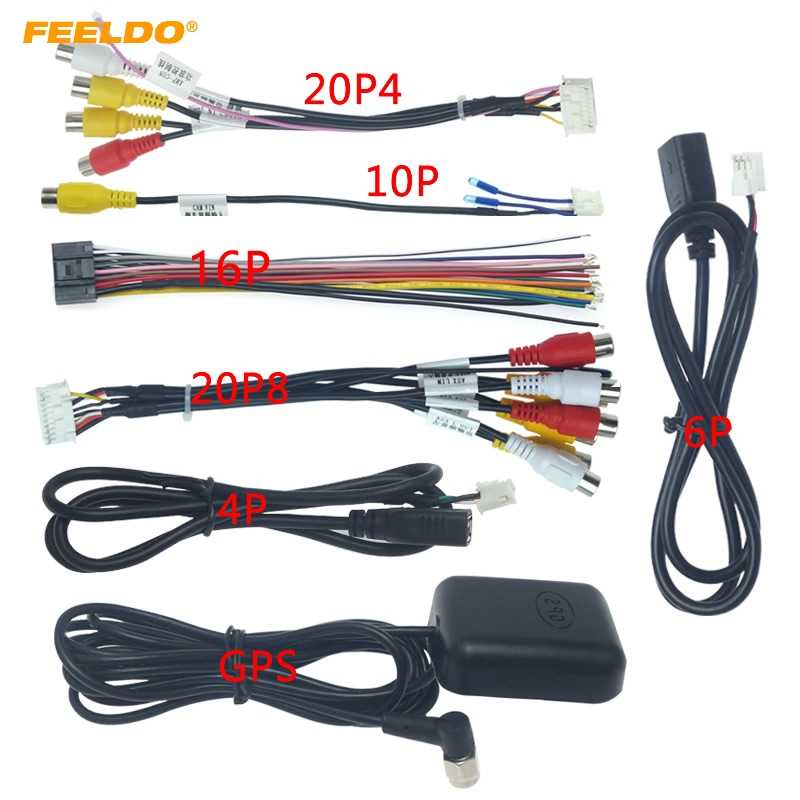 FEELDO Car Head Unit Stereo Wire Harness Kits Compatible For XY AUTO  Android Solution Interface #CT4919| | - AliExpressAliExpress