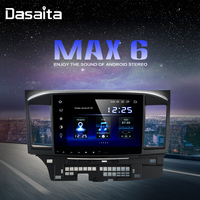 Android 9.0 Car Radio DSP 10.2 Touch Screen for Mitsubishi Lancer 10 EVO 1 Din 64G ROM 4G RAM Car Bluetooth
