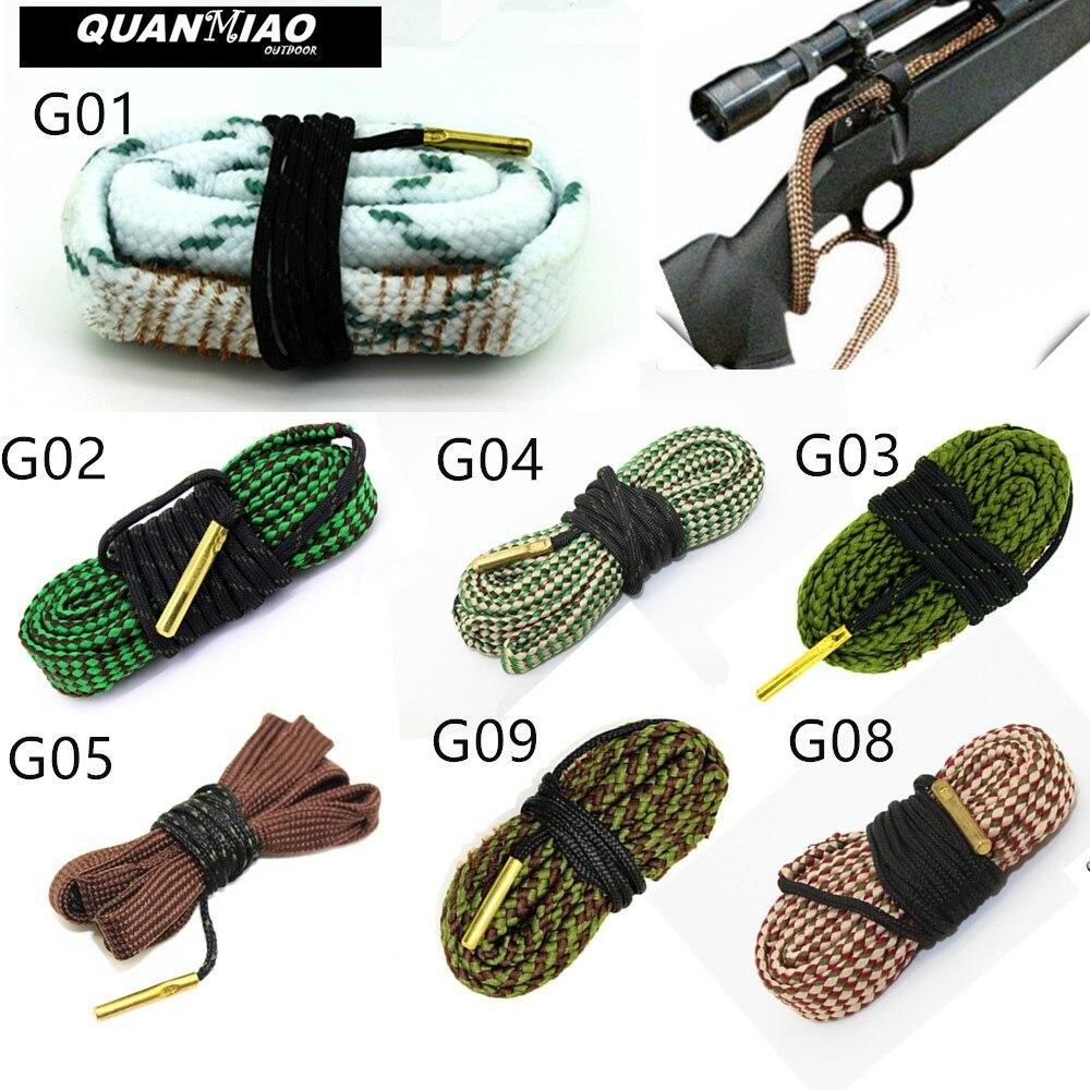 Пистолет скважины чище. 22 Cal.223 Cal.38 отдельно Кол-во и 5,56 мм, 7,62 мм, 12GA винтовка набор чистящих средств для ухода за инструмент винтовка калибра ...