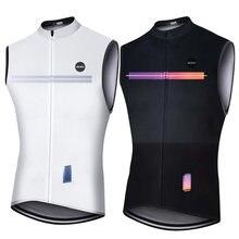 Sdig colete à prova de vento men ciclismo camisa ropa ciclismo leve malha respirável mtb ciclismo colete jaqueta hombre bicicleta kit