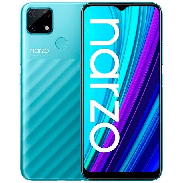 "Global Version realme Narzo 30A 4GB 64GB  6.5""HD+Helio G85 6000mAh 13MP AI Triple Dual Camera 18W EU ChargerMobile Phone 3"