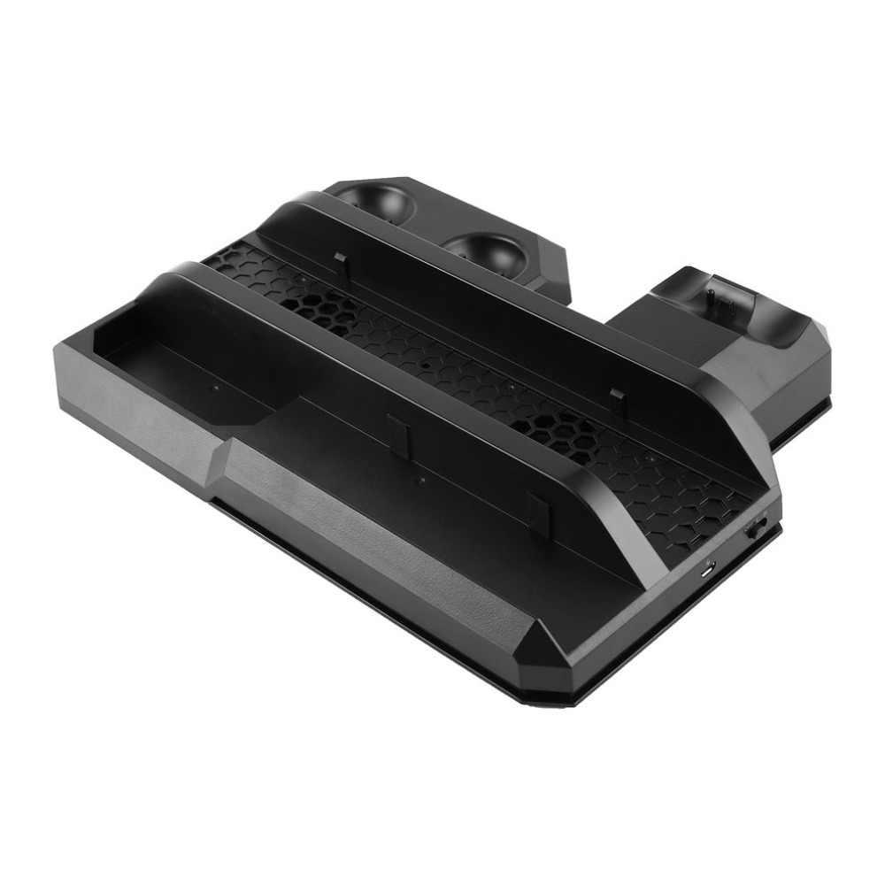 متعددة وظيفة العمودي حامل تبريد تتحرك تحكم وحدة شاحن معرضا حامل ل PS4 سلسلة ل VR نظارات