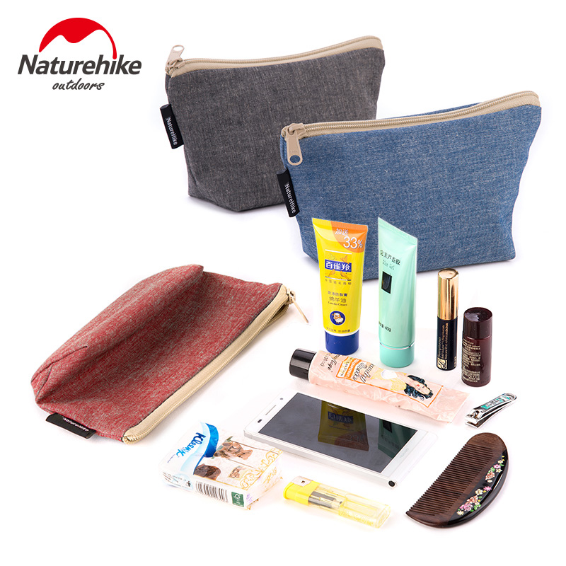 NatureHike Outdoor Key Bag Coin Purse Canvas Bag Receive Cosmetic Bag Pocket Phones Sundry Packages Bags